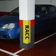 Protectores publicitarios Parking Shop