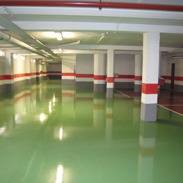 pintura especial para suelos de garajes