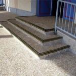 Protectores PVC peldaños escaleras