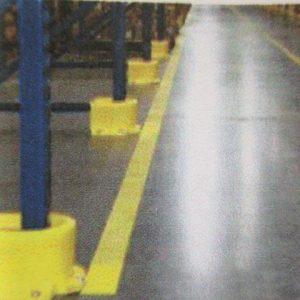 Protectores PVC bases estanterias