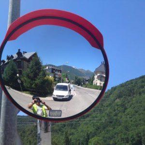 Espejos de seguridad vigilancia y control de accesos for Espejos de seguridad