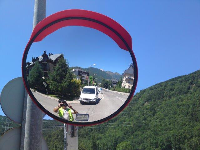 Espejos de seguridad para exterioes