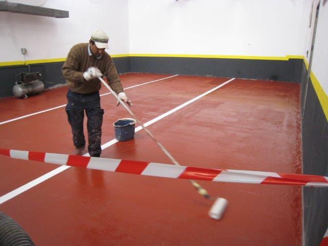 Pinturas para suelos de garajes