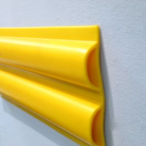 Protectores - señalizadores de PVC para rampas