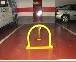 cepo barrera estacionamiento