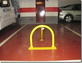 instalaci n de cepos en las plazas de aparcamiento